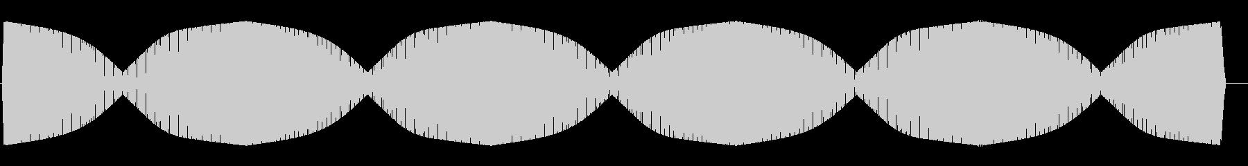 ワープエンジン(一定周期で繰り返される)の未再生の波形