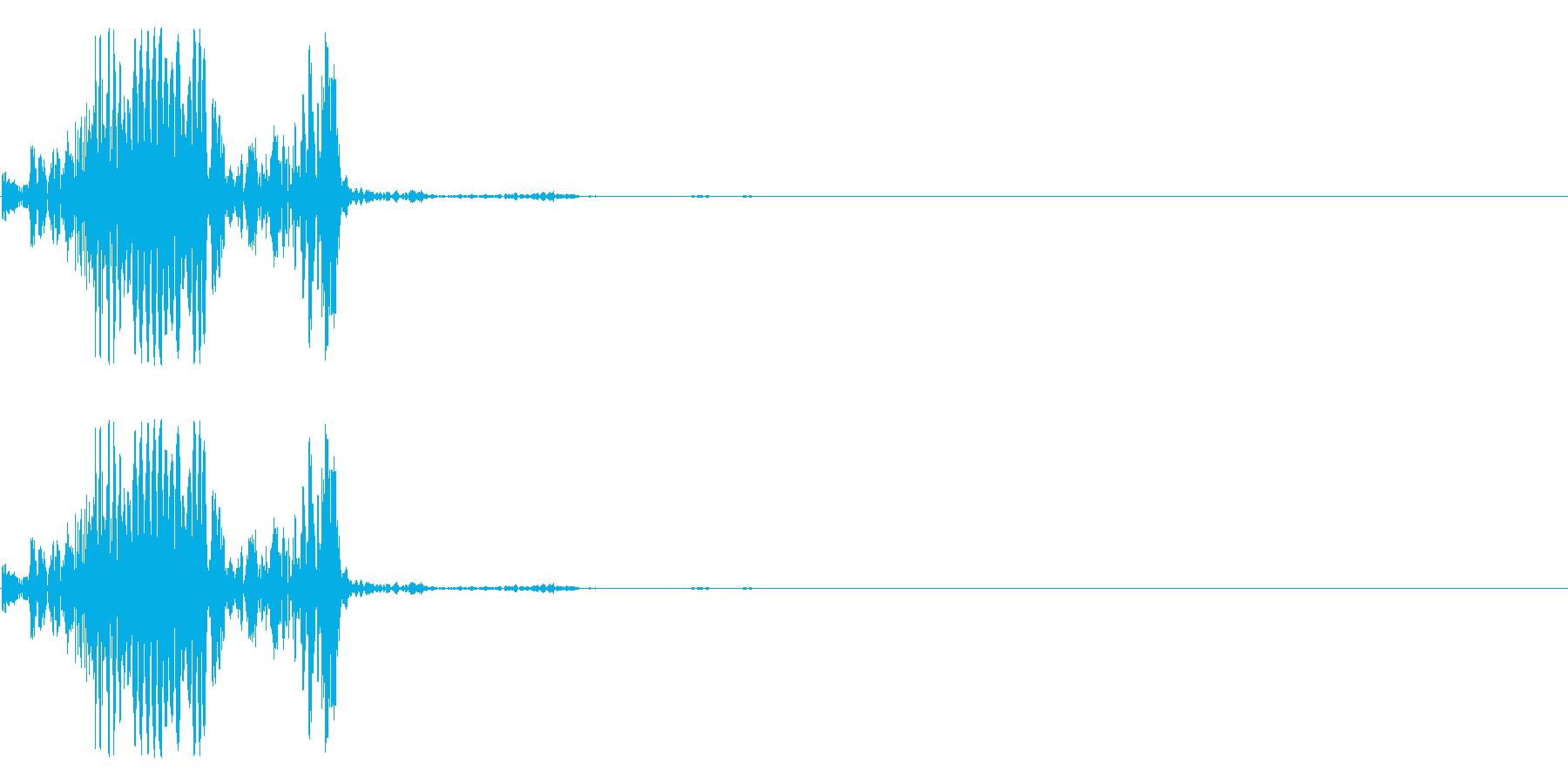 ズボニュの再生済みの波形