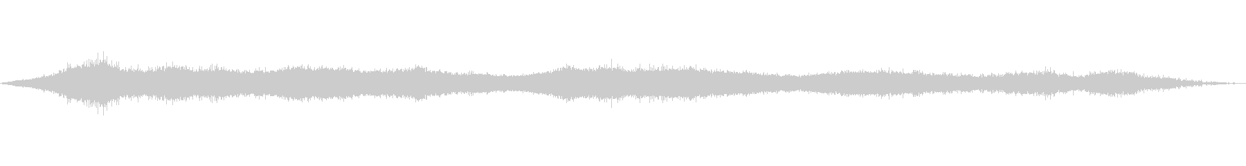 風の効果音(自然、そよ風、ビル風等)02の未再生の波形