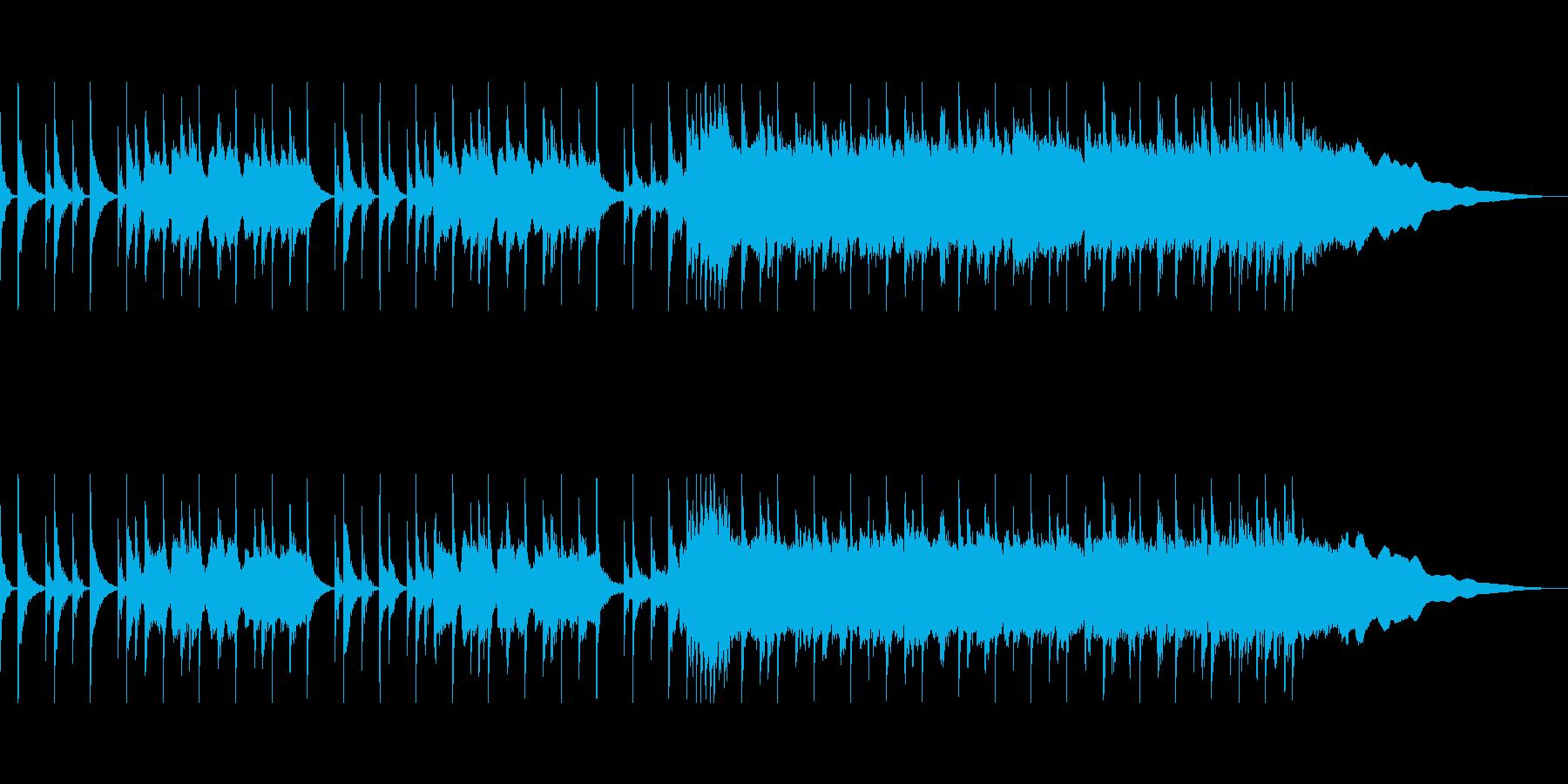 疾走感あるパンクロックCMの再生済みの波形