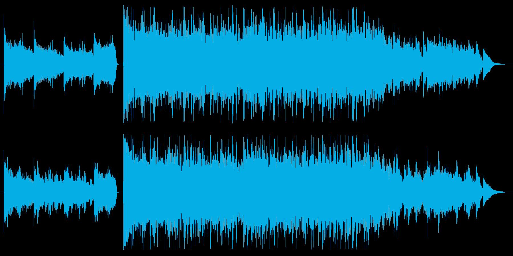 [30秒] コンピューター テクノロジーの再生済みの波形