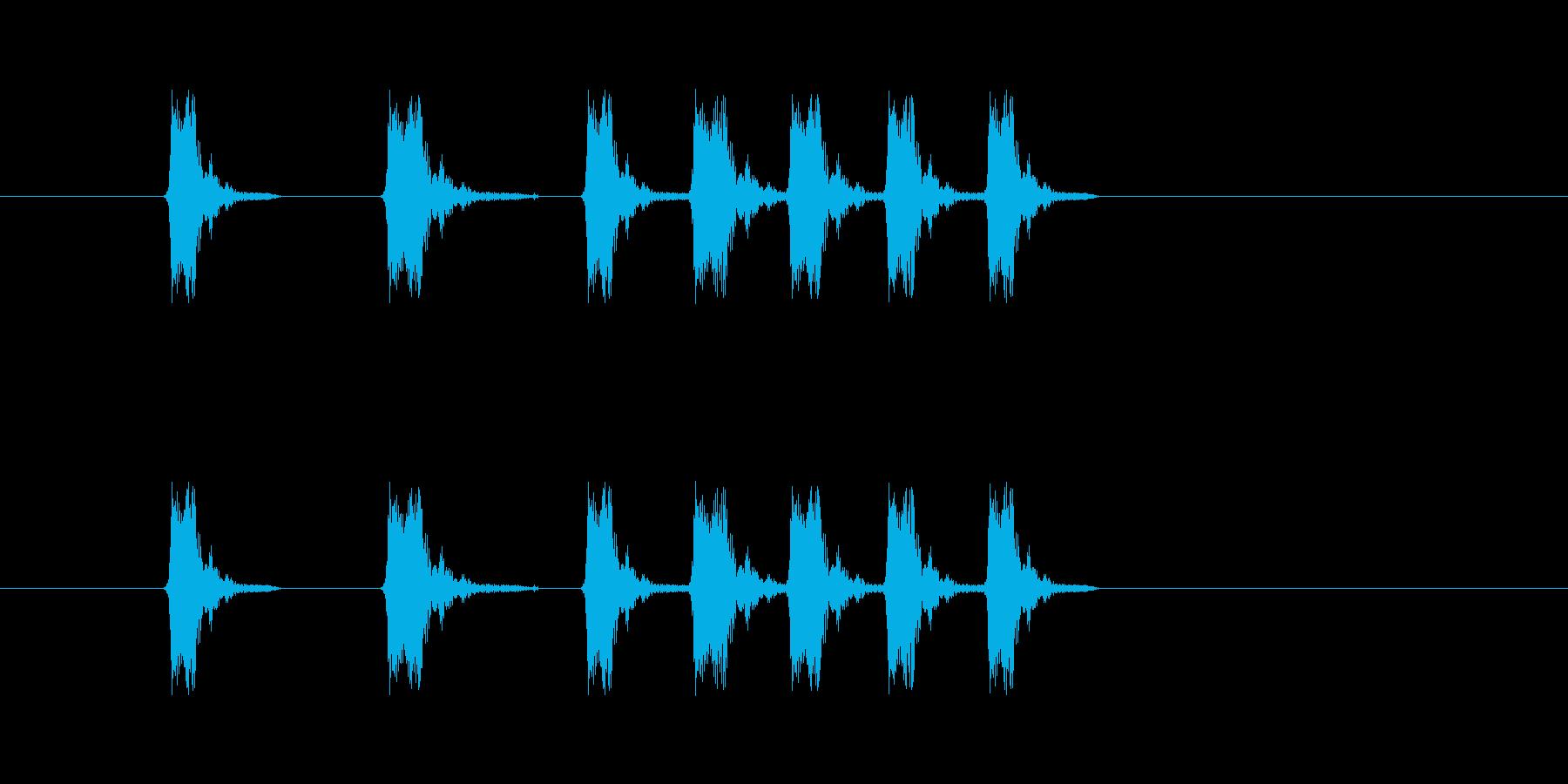 パッペパペパ(コミカル、リズム)の再生済みの波形
