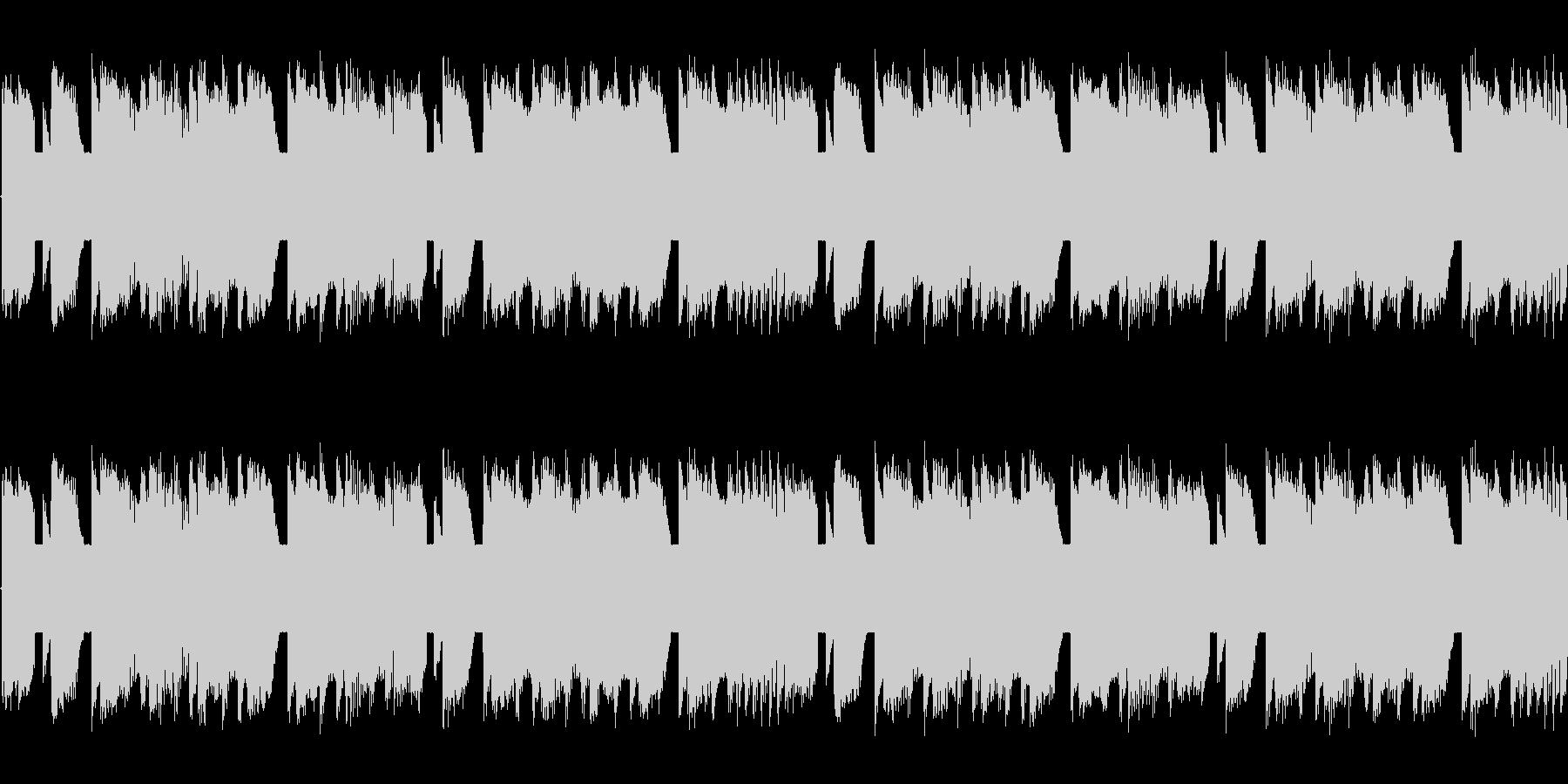 チップチューンの軽快な短いループ3の未再生の波形