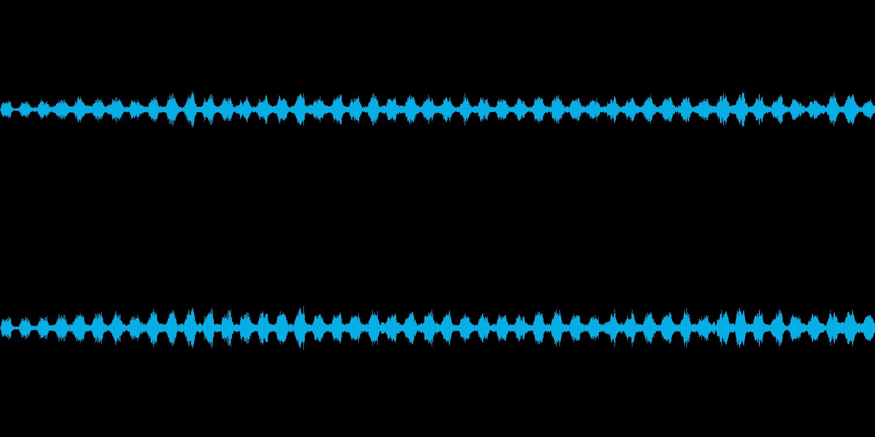 キーンの再生済みの波形