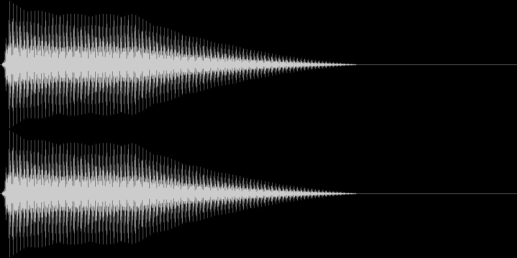 OctaveCom アプリ用タッチ音10の未再生の波形