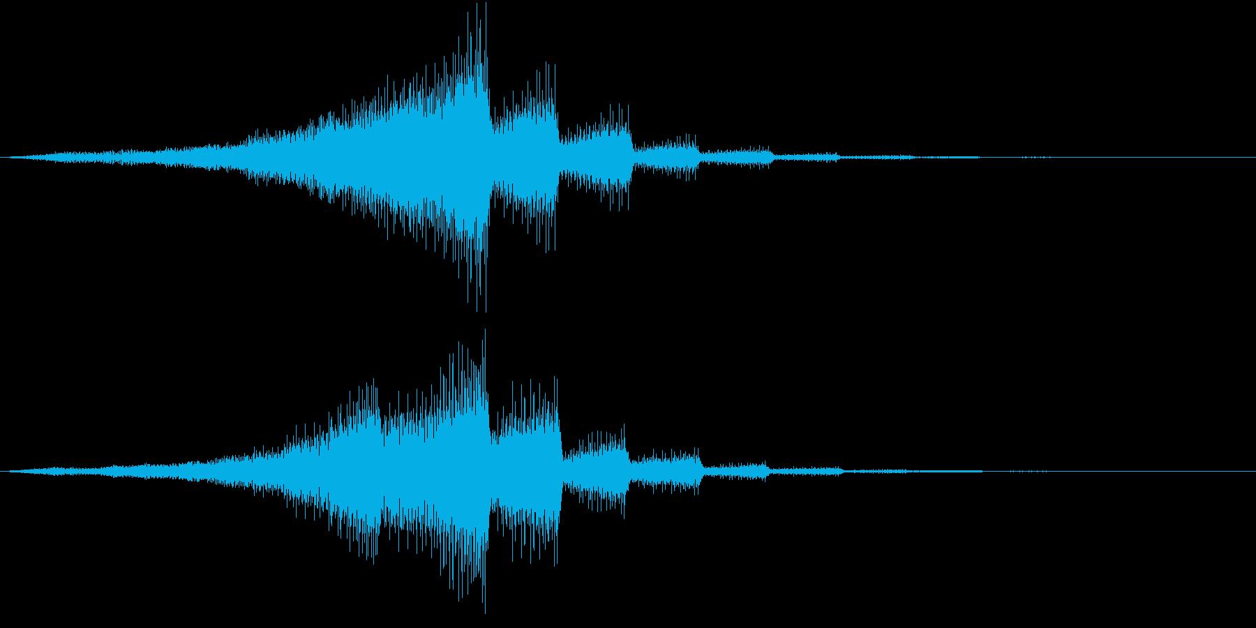 LOGO 企業向け CM サウンドロゴの再生済みの波形