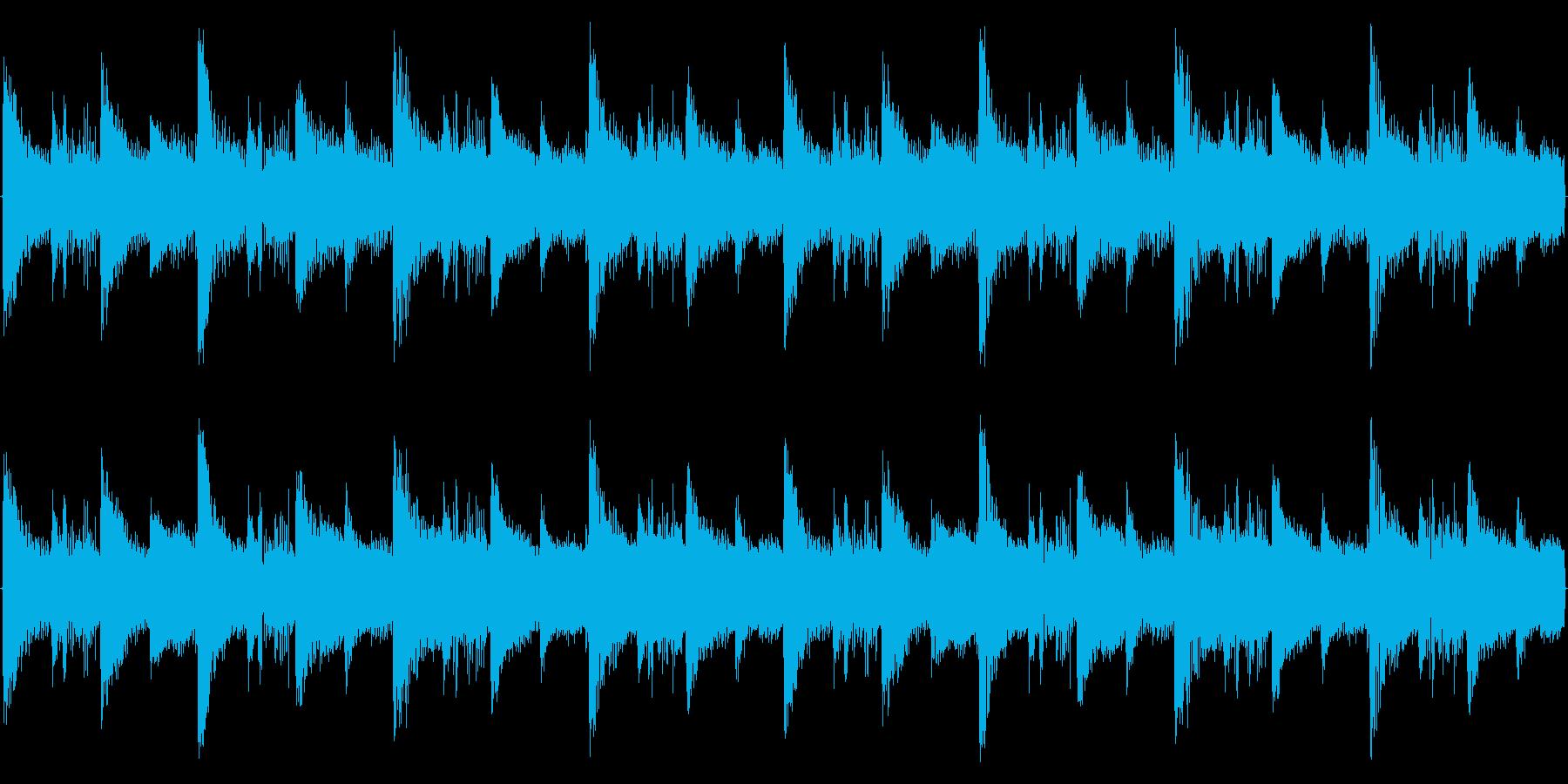 スローテンポな空間系ダブステップの再生済みの波形