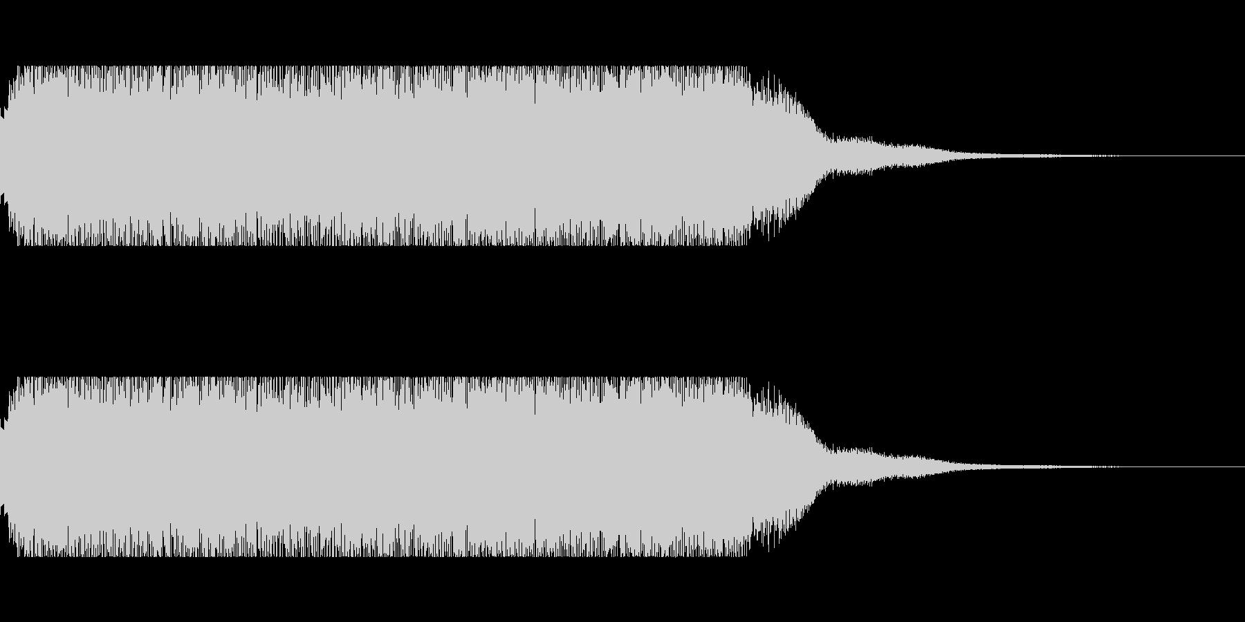 発車メロディー3の未再生の波形