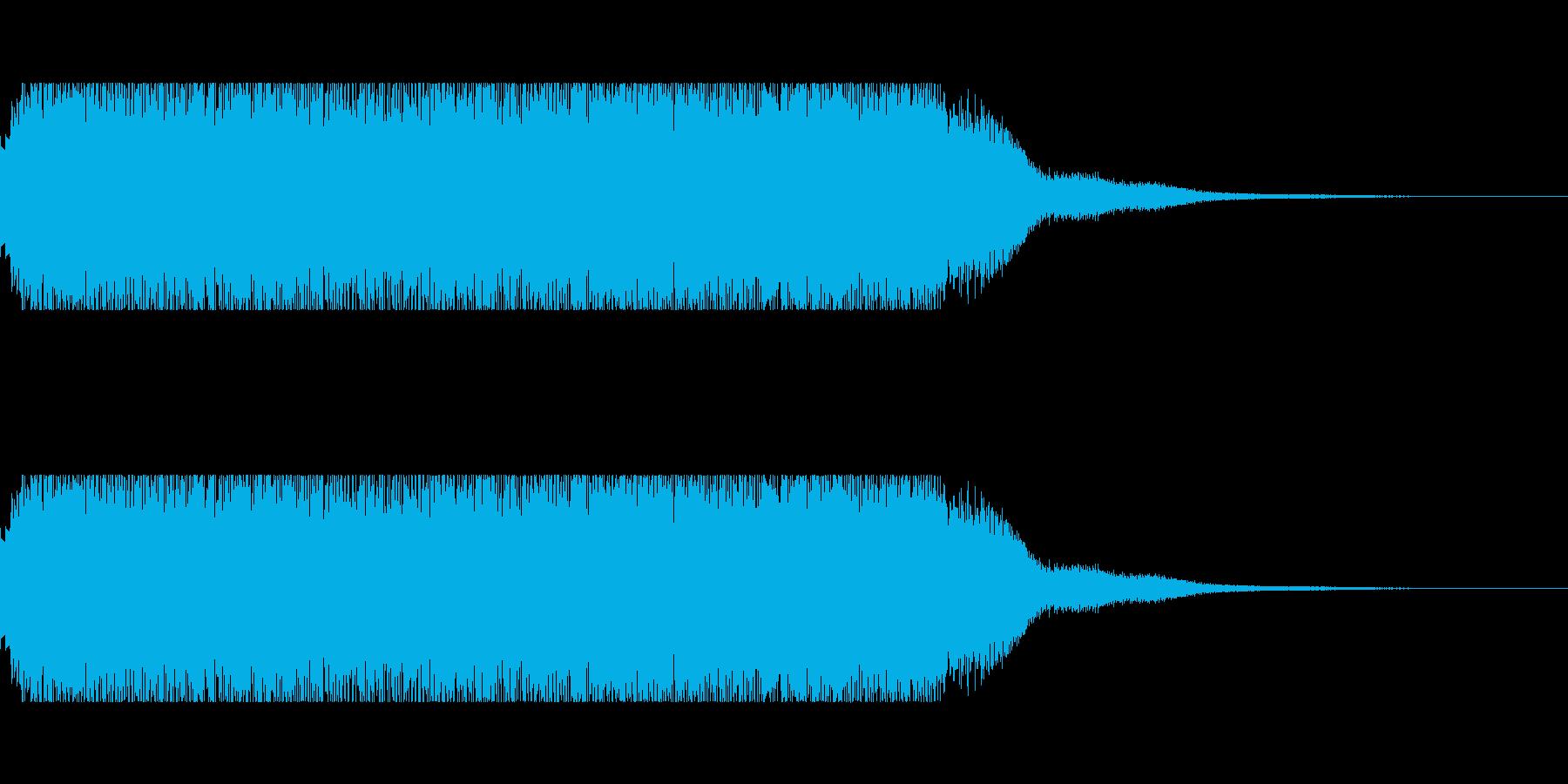 発車メロディー3の再生済みの波形