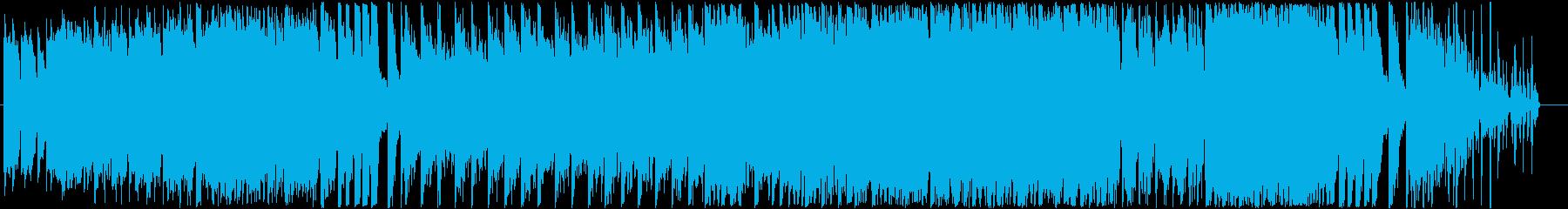 バッハの有名な協奏曲をEDMにしましたの再生済みの波形