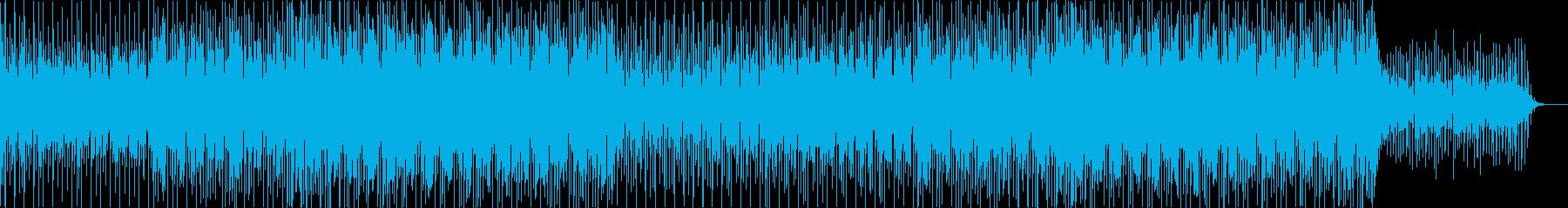 ニュース映像ナレーションバック向け-12の再生済みの波形
