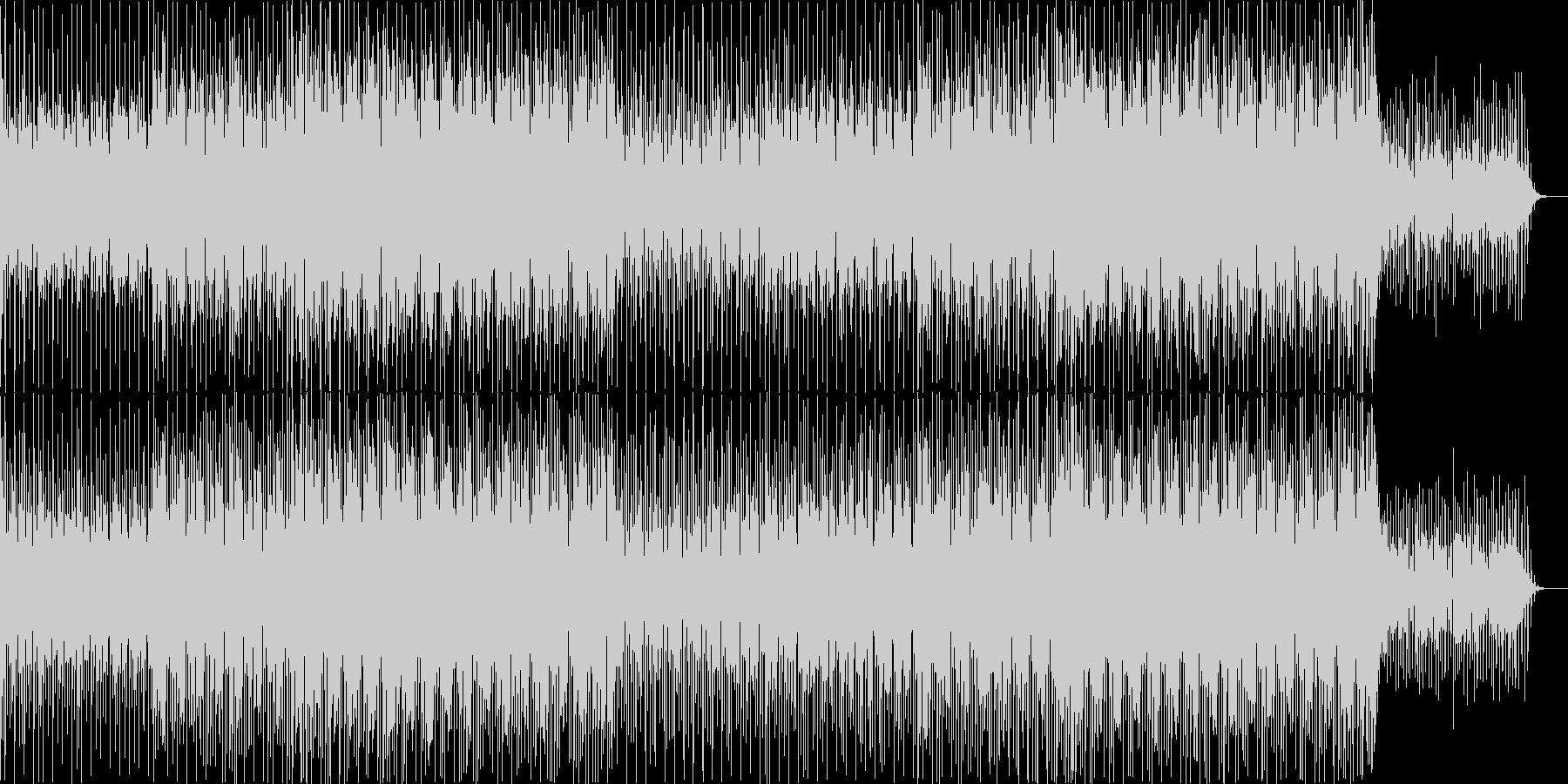 ニュース映像ナレーションバック向け-12の未再生の波形