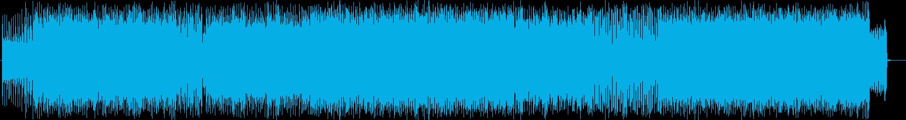 疾走感溢れるクールなエレキメロディーの再生済みの波形