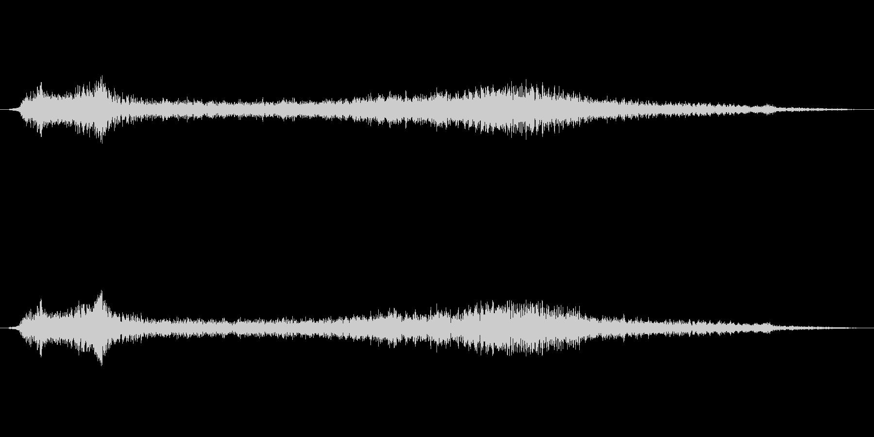 CM前に入れるアイキャッチの未再生の波形