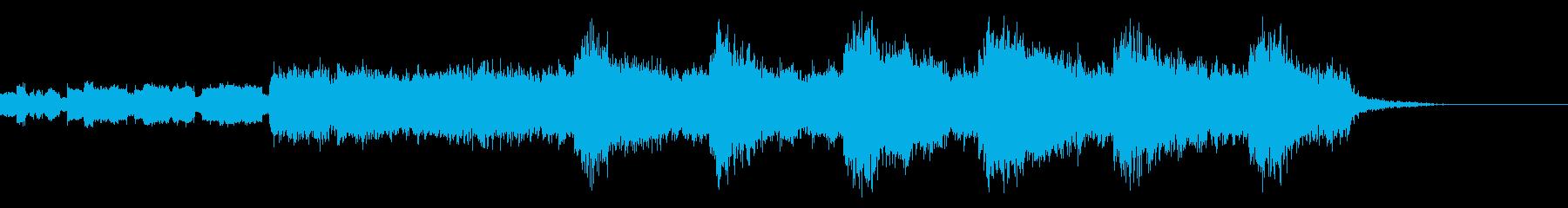 不穏なBGM2の再生済みの波形