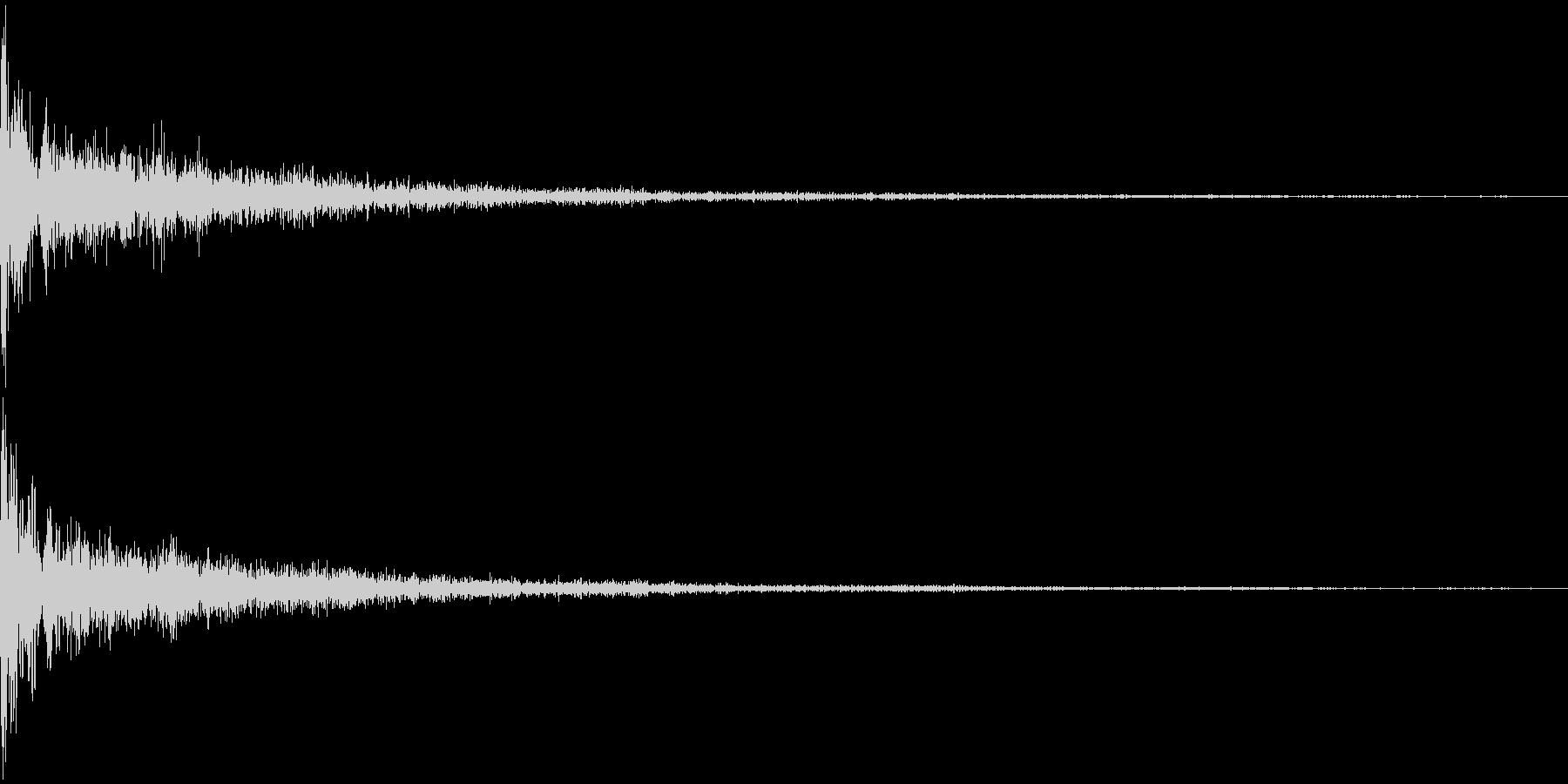 EDM KickVerb 音楽制作用の未再生の波形