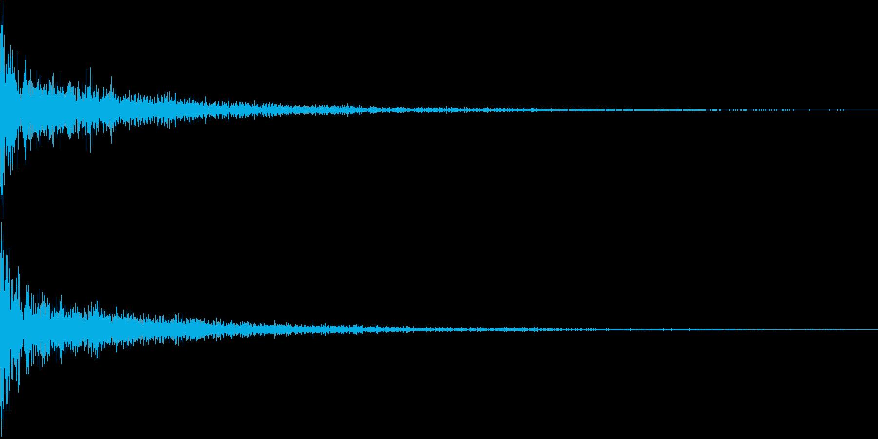 EDM KickVerb 音楽制作用の再生済みの波形