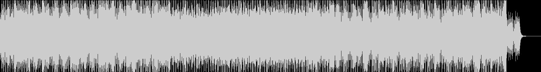 軽やかなピアノとストリングスの登場映像の未再生の波形