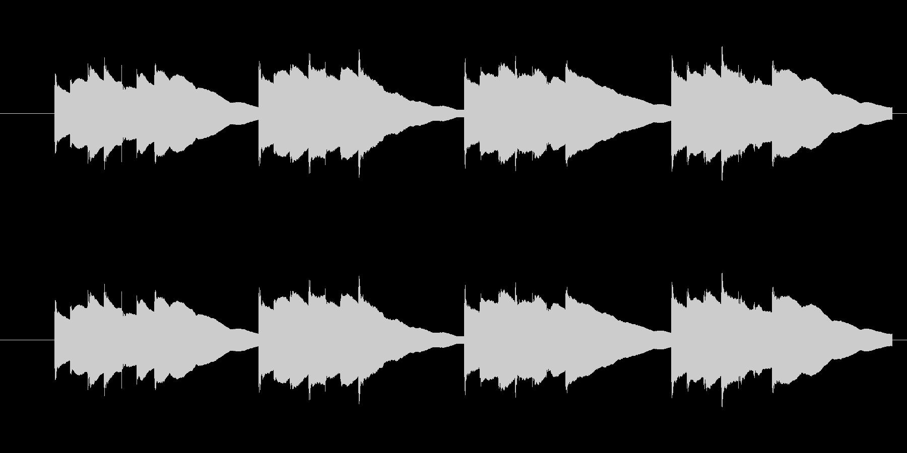 Kalimbellを使った効果音です。…の未再生の波形