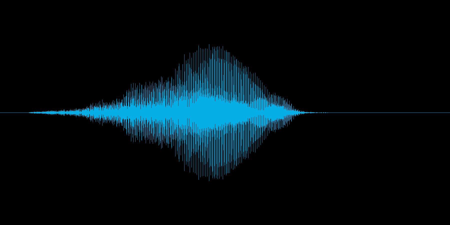 はっ!(Type-B)の再生済みの波形
