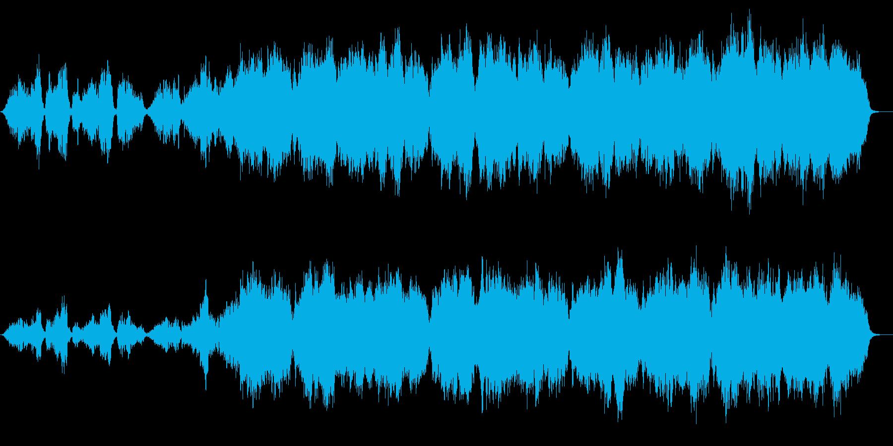 神秘的な雅楽「越天楽」弦楽編曲の再生済みの波形