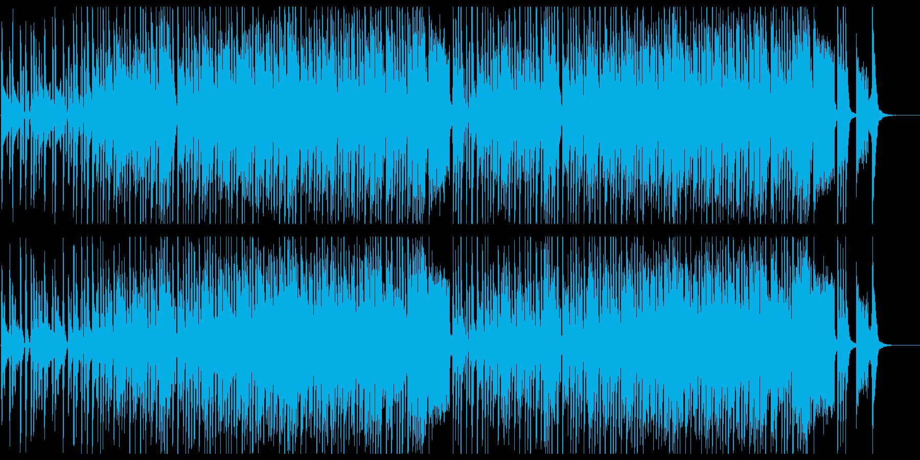 キュートでお洒落なレトロポップの再生済みの波形