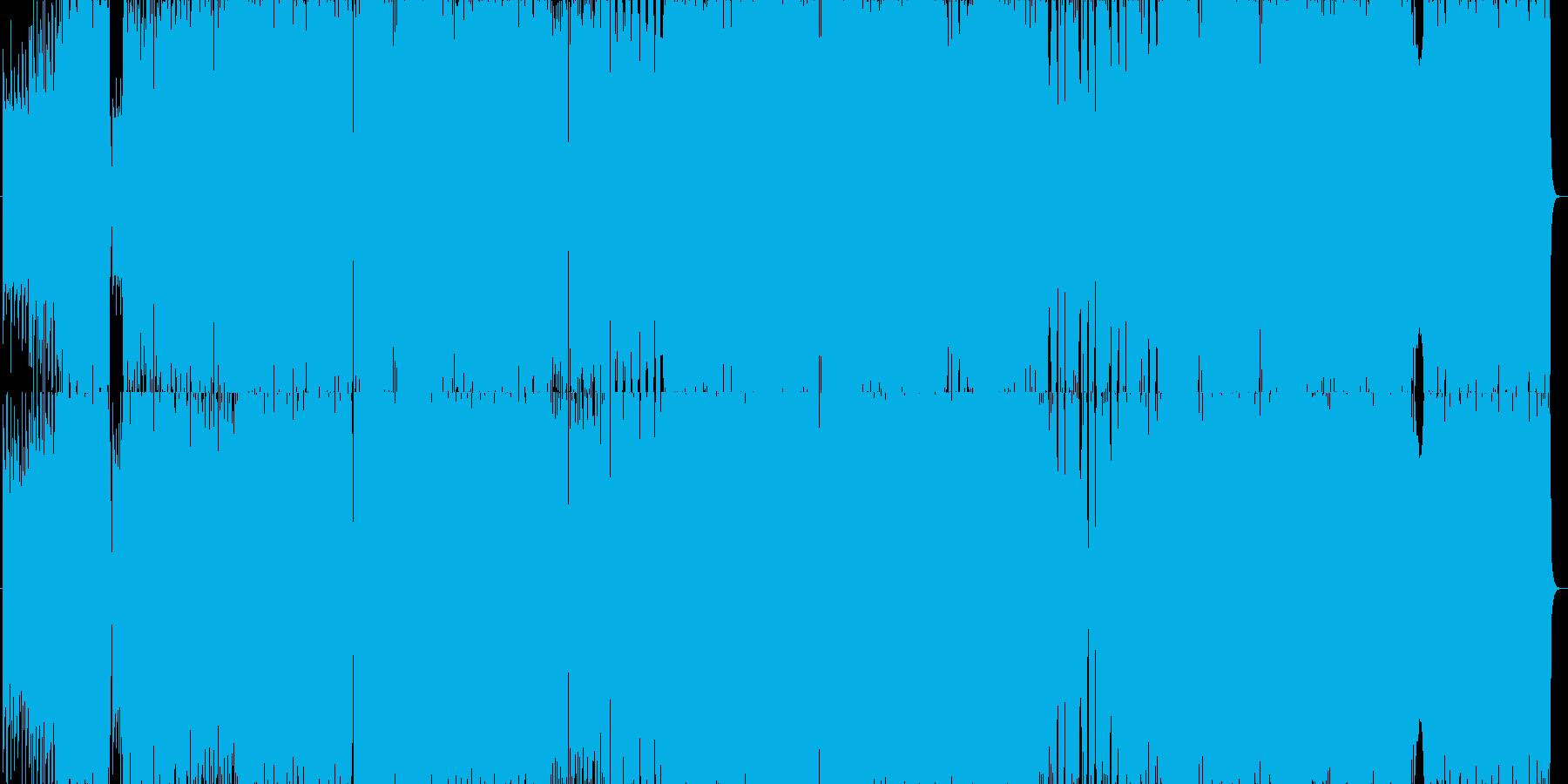 ほのぼの感と感動が混じる合唱系バラードの再生済みの波形