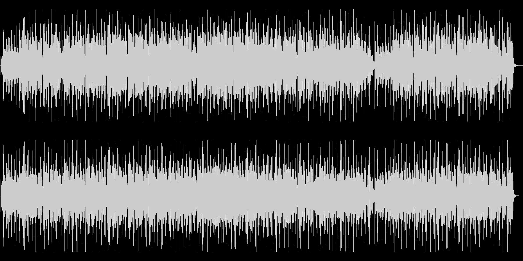 陽気で軽快なカントリー風音楽の未再生の波形