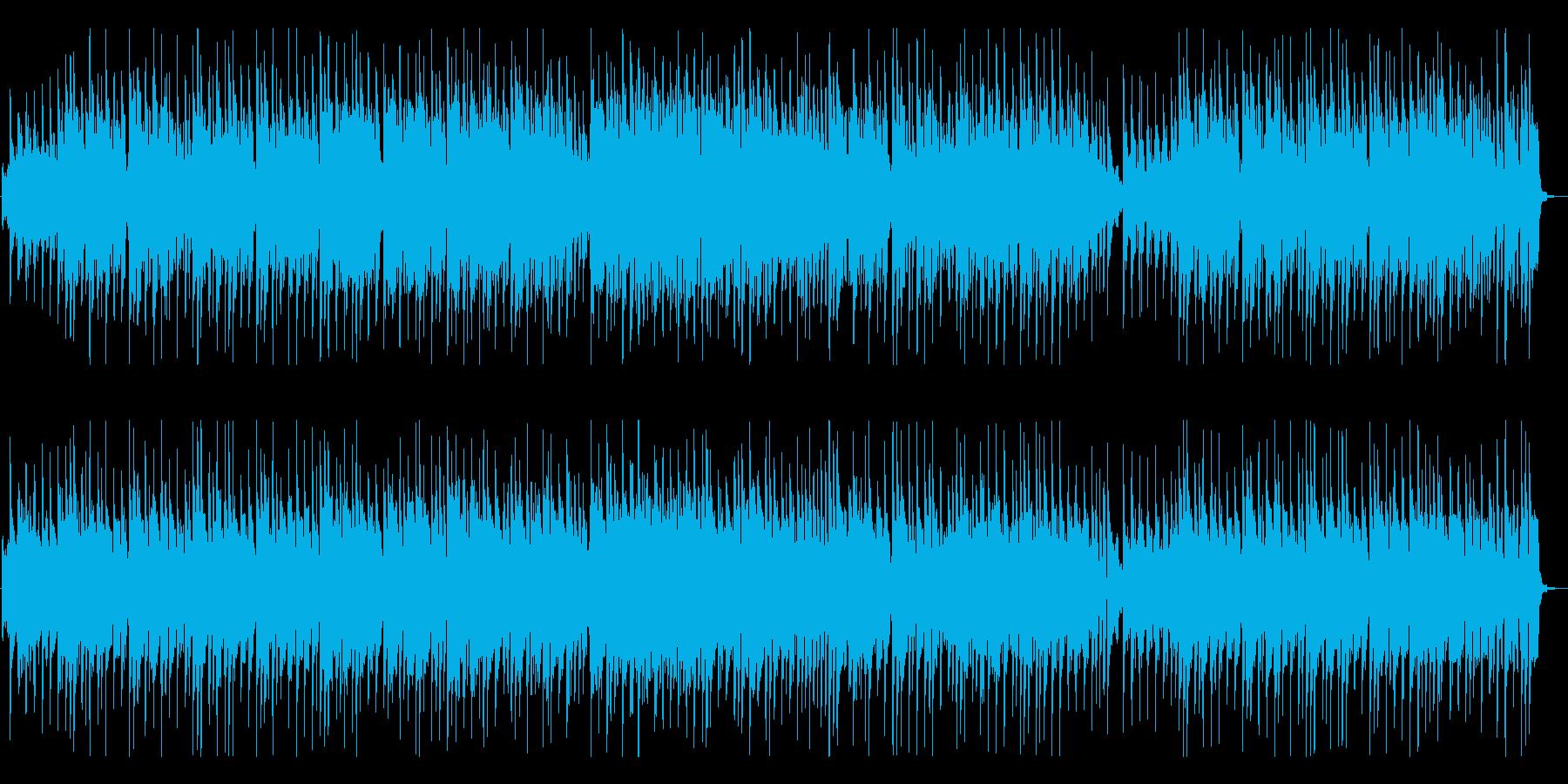 陽気で軽快なカントリー風音楽の再生済みの波形