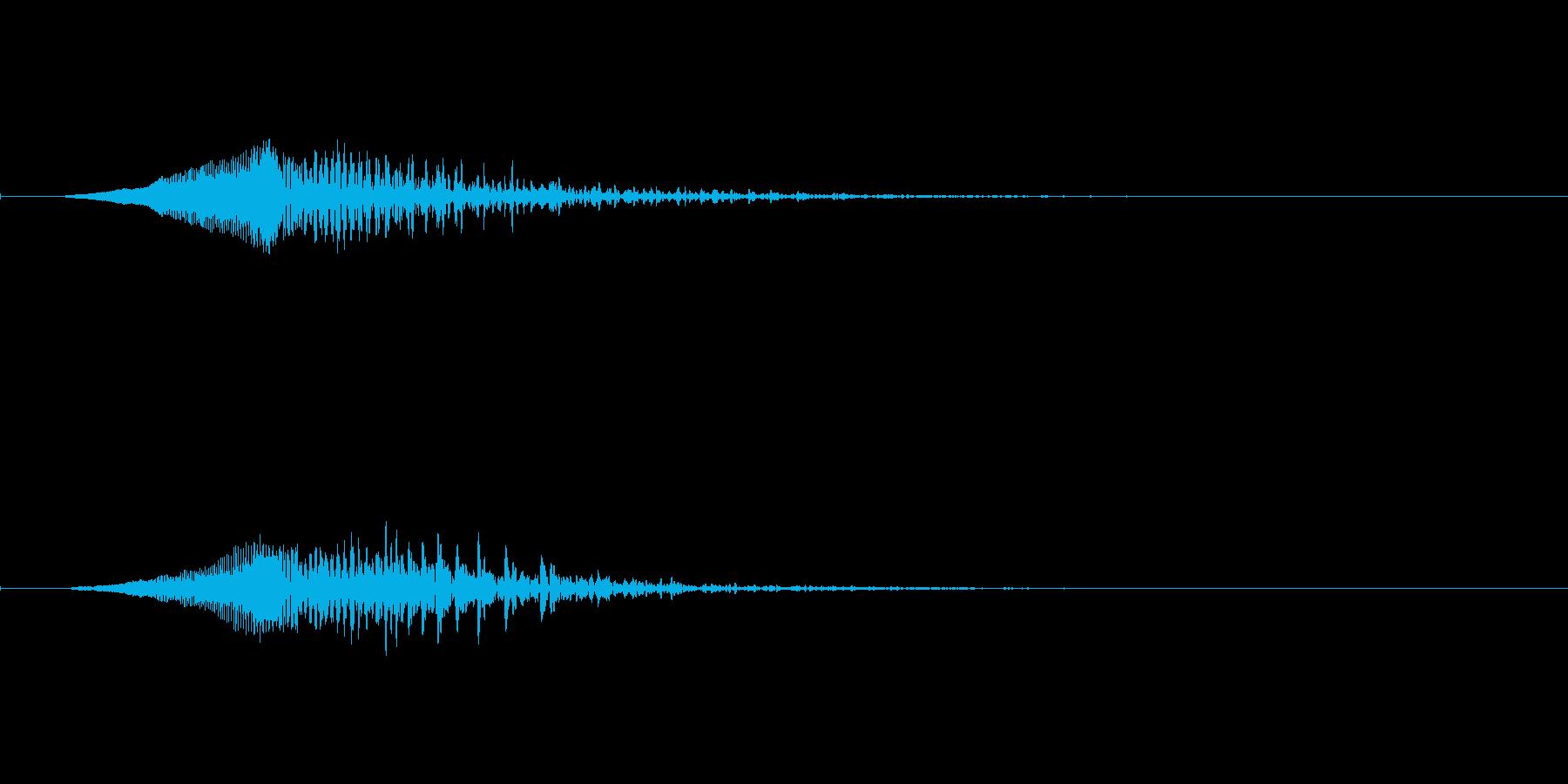 【ショートブリッジ06-down】の再生済みの波形