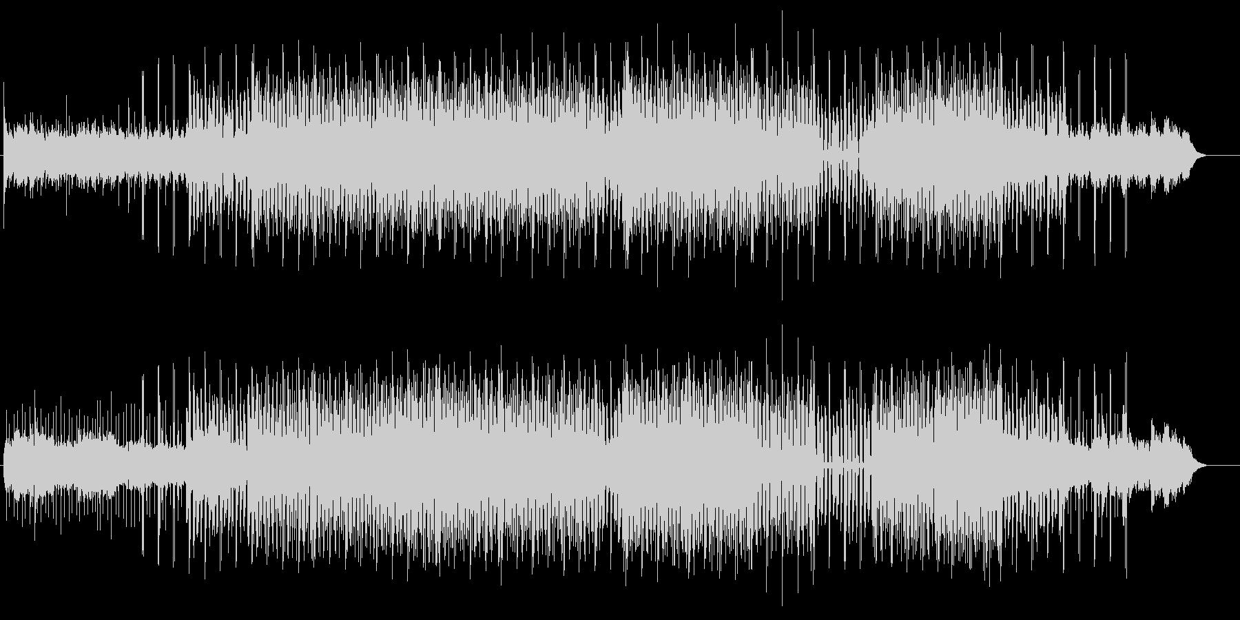 ディープハウスイメージのエレクトロポップの未再生の波形