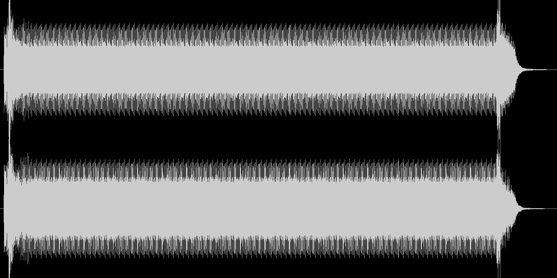 コンプレッサーの未再生の波形
