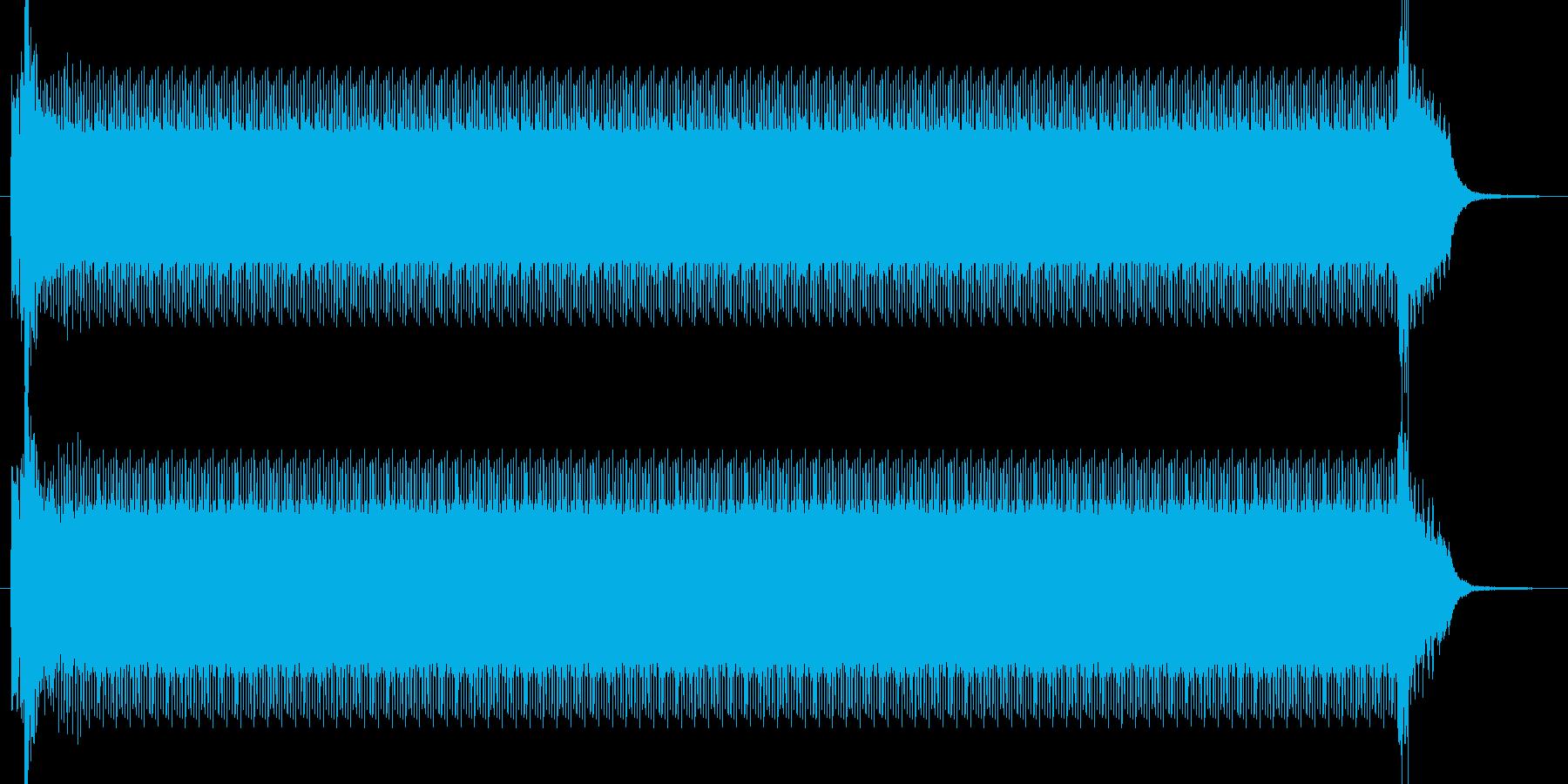 コンプレッサーの再生済みの波形
