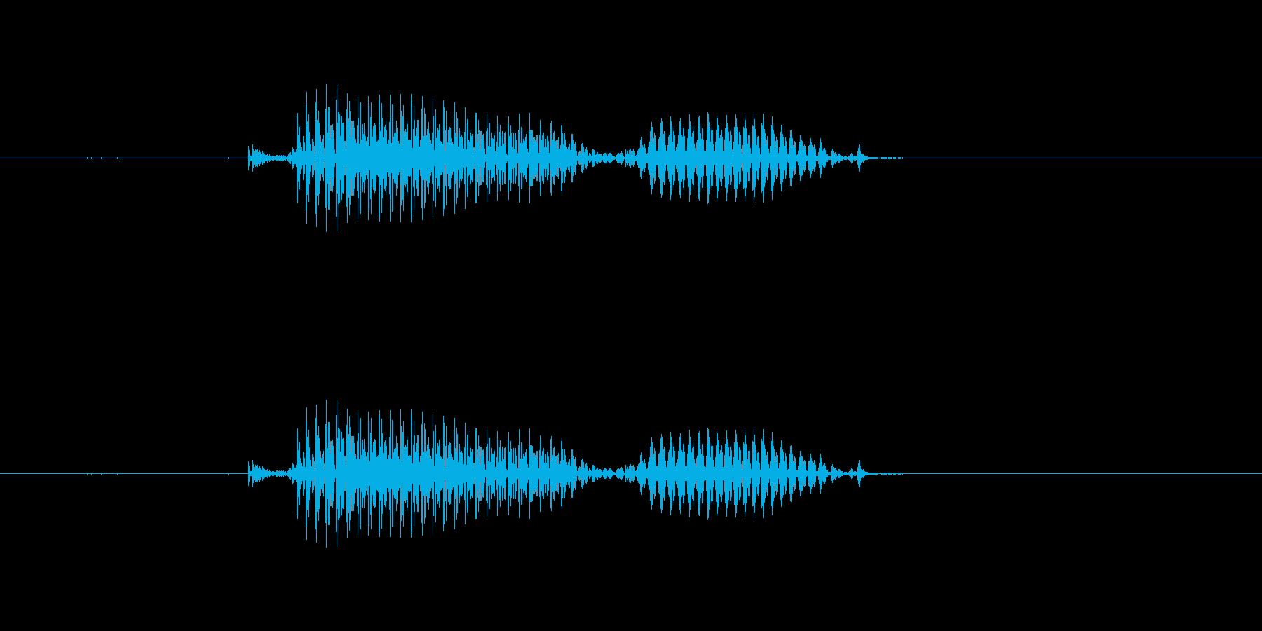 【干支】酉の再生済みの波形