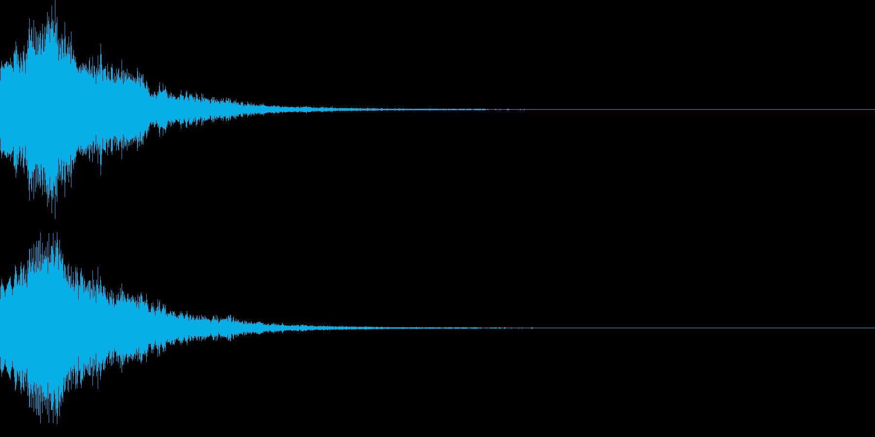 魔法音08_Aの再生済みの波形