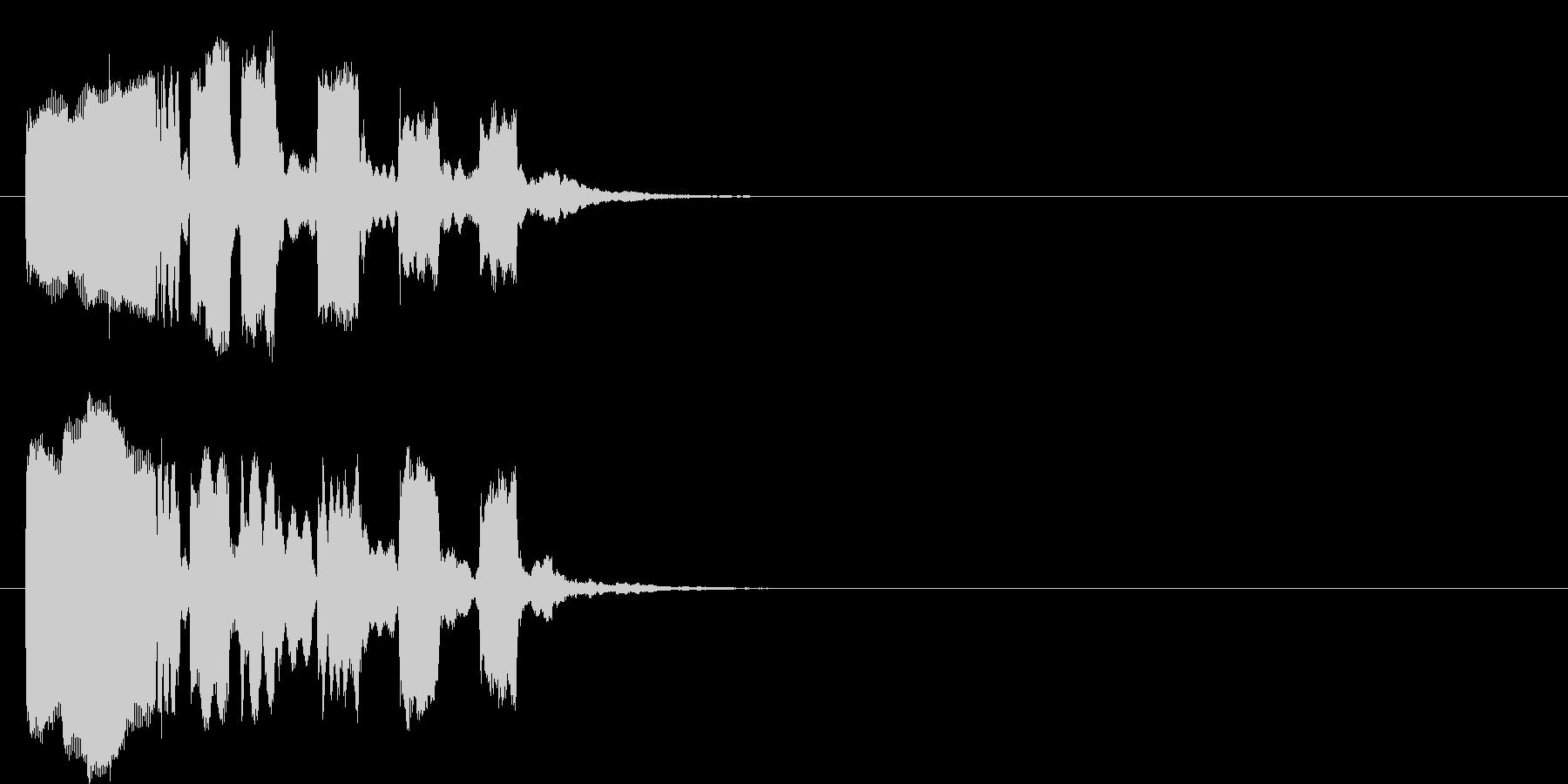 コミカル コント 場面転換 のんびりの未再生の波形