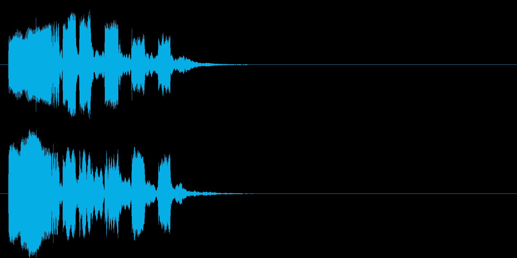 コミカル コント 場面転換 のんびりの再生済みの波形