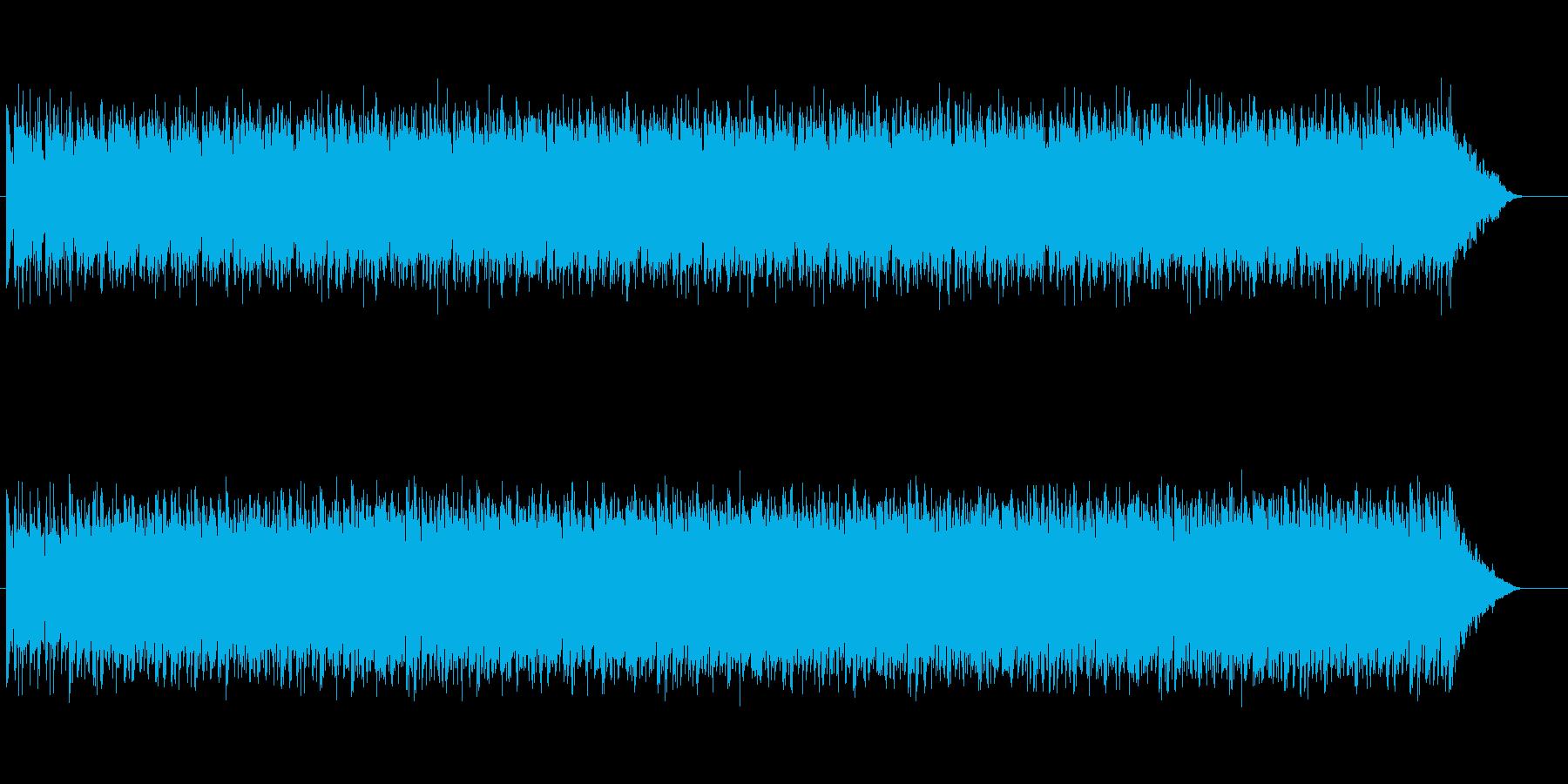 【挑戦者X】ドキュメンタリー番組系BGMの再生済みの波形
