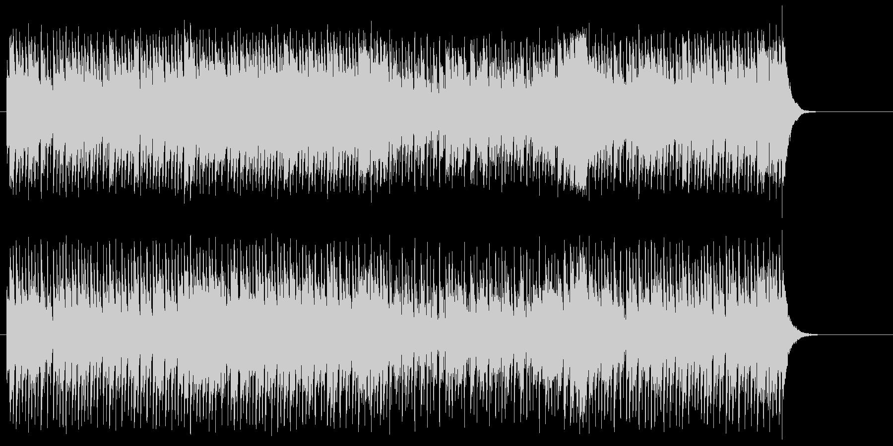 シュプールを描くポップ(A~B~A)の未再生の波形