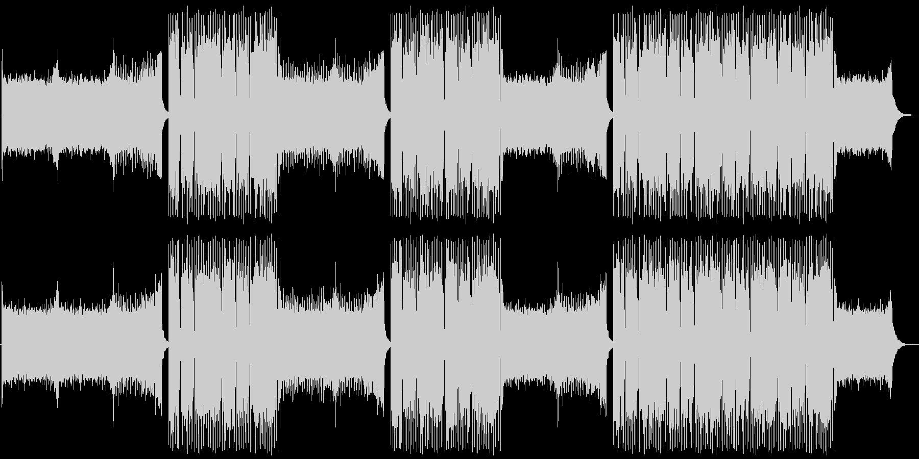EDMクラブ系ダンスミュージック-02の未再生の波形
