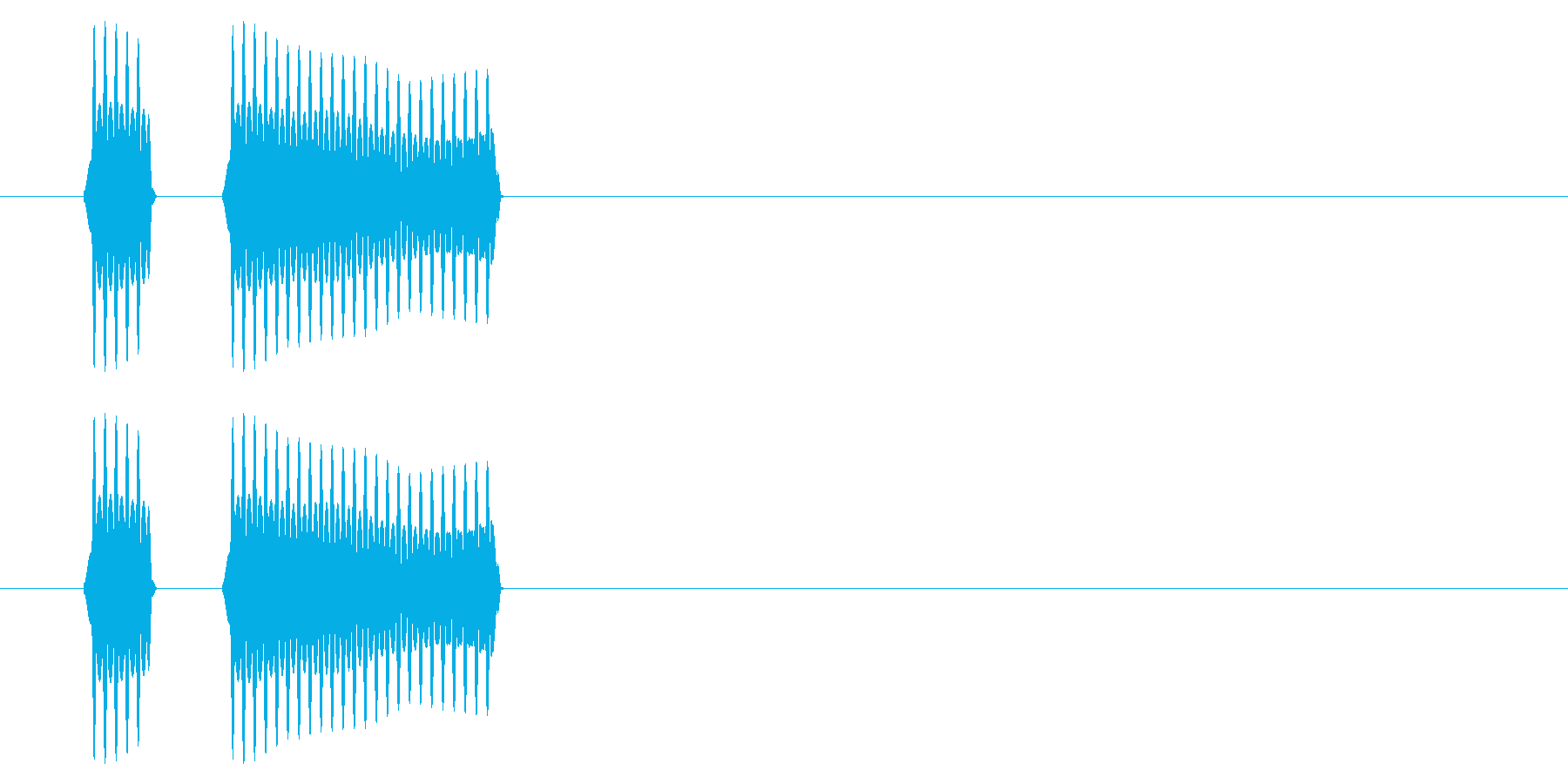 SNES サッカー01-06(ホイッスルの再生済みの波形