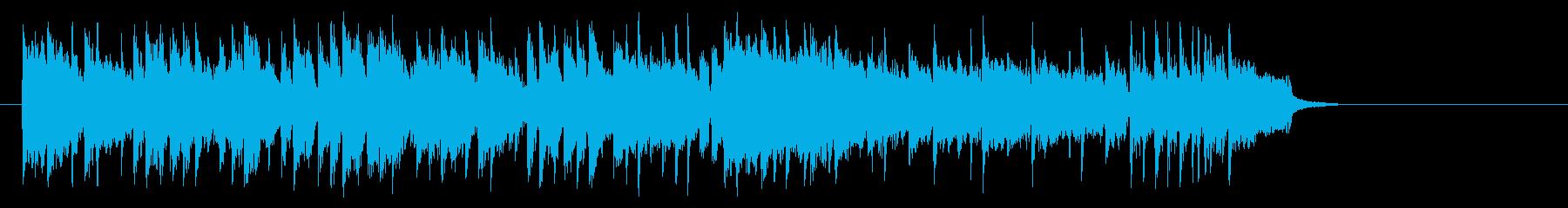 旅情漂うミディアムポップ(サビ~イン…)の再生済みの波形