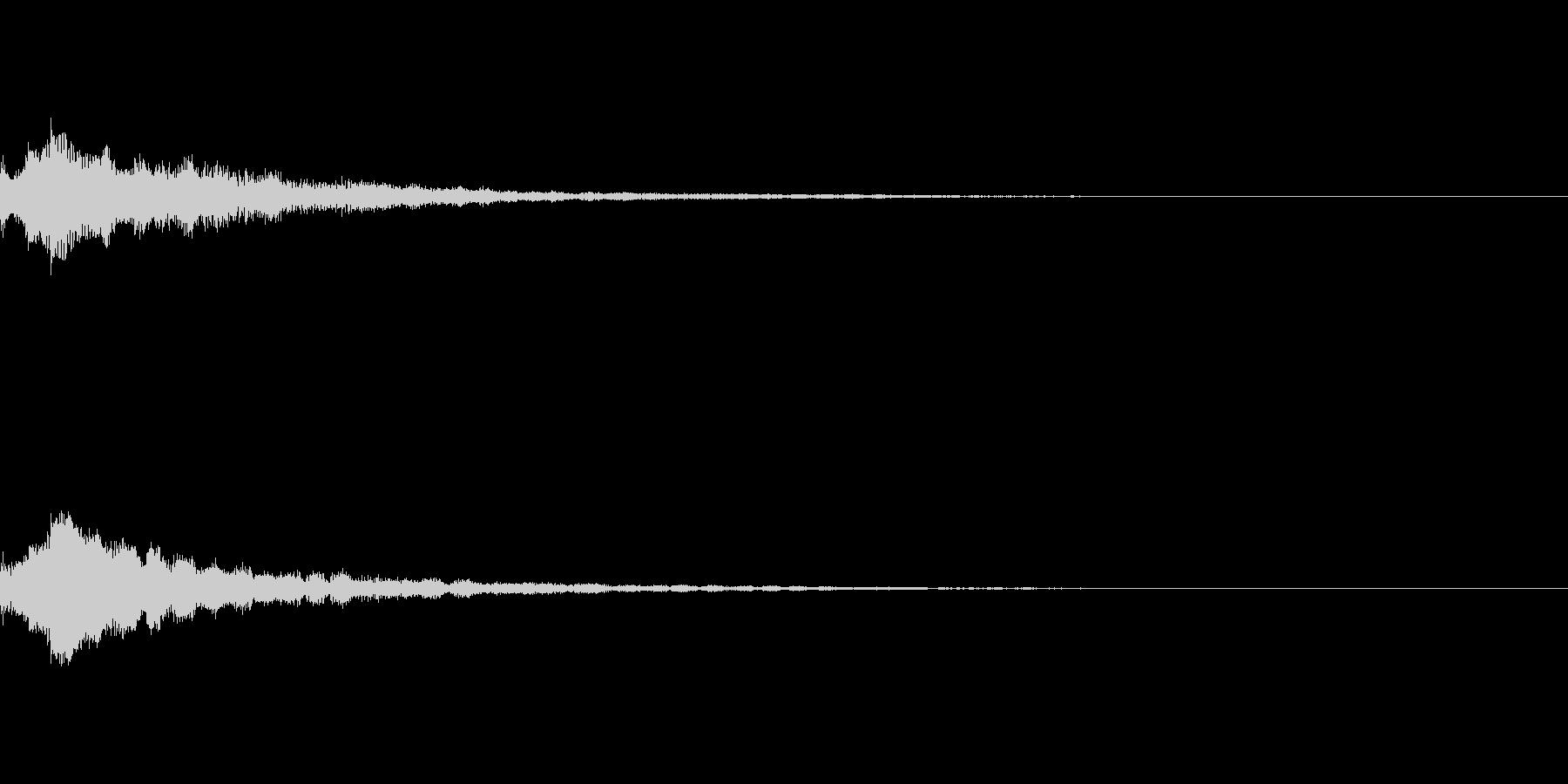 しゃらん♪ (連鎖07)の未再生の波形