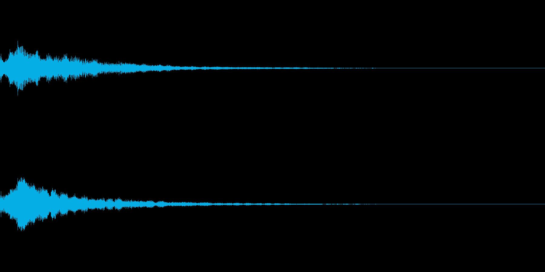 しゃらん♪ (連鎖07)の再生済みの波形