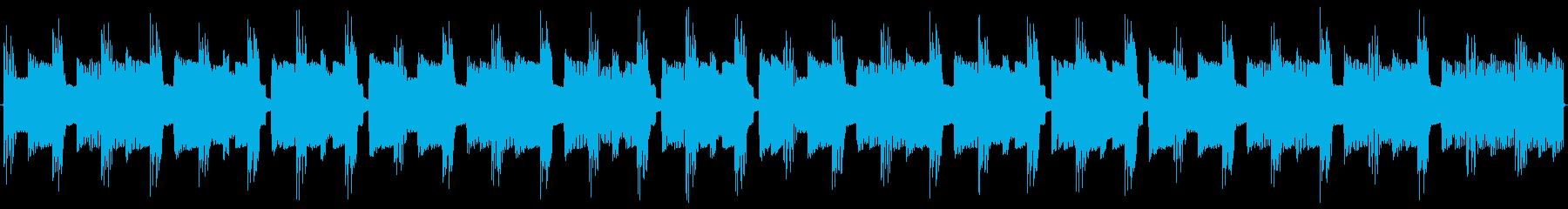 チップチューンの痛快な短いループ3の再生済みの波形