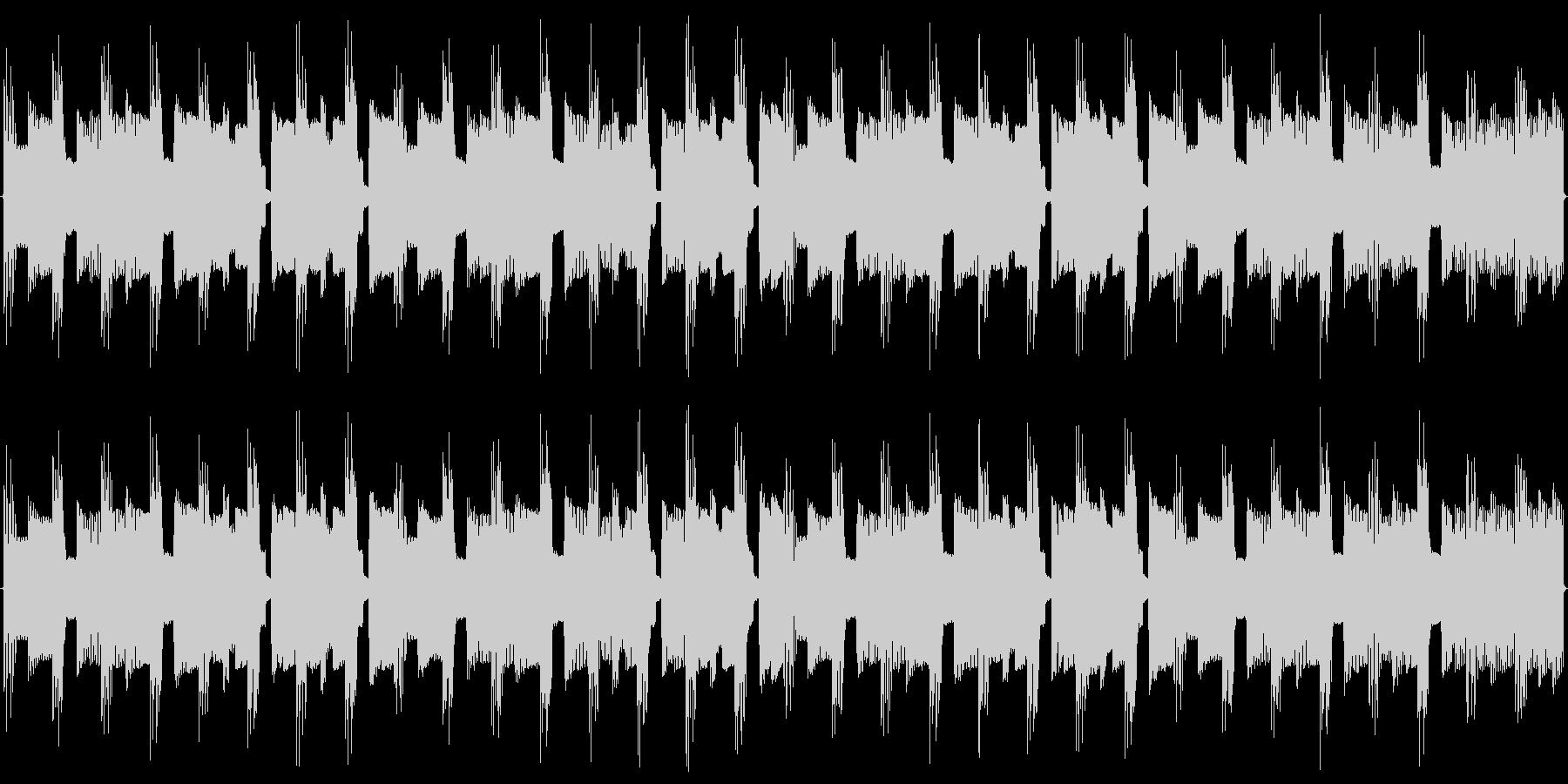 チップチューンの痛快な短いループ3の未再生の波形