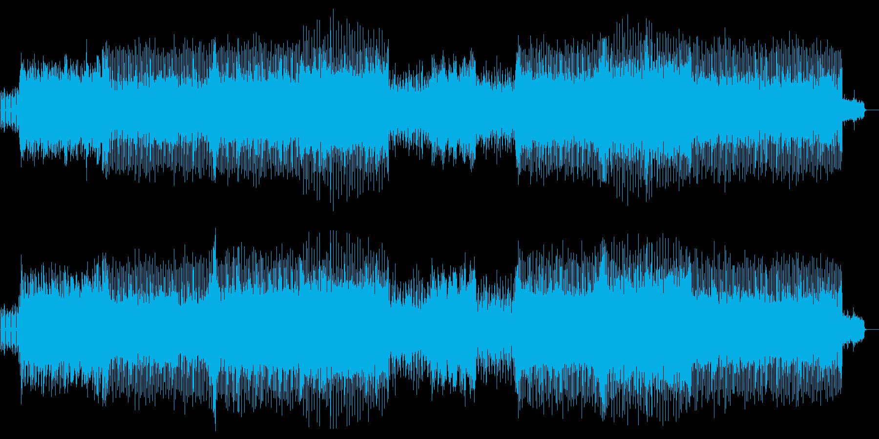 あやしい 追跡 スリル スピード 夜の再生済みの波形