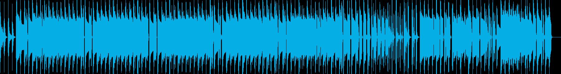 不思議な雰囲気のドラムンベースの再生済みの波形