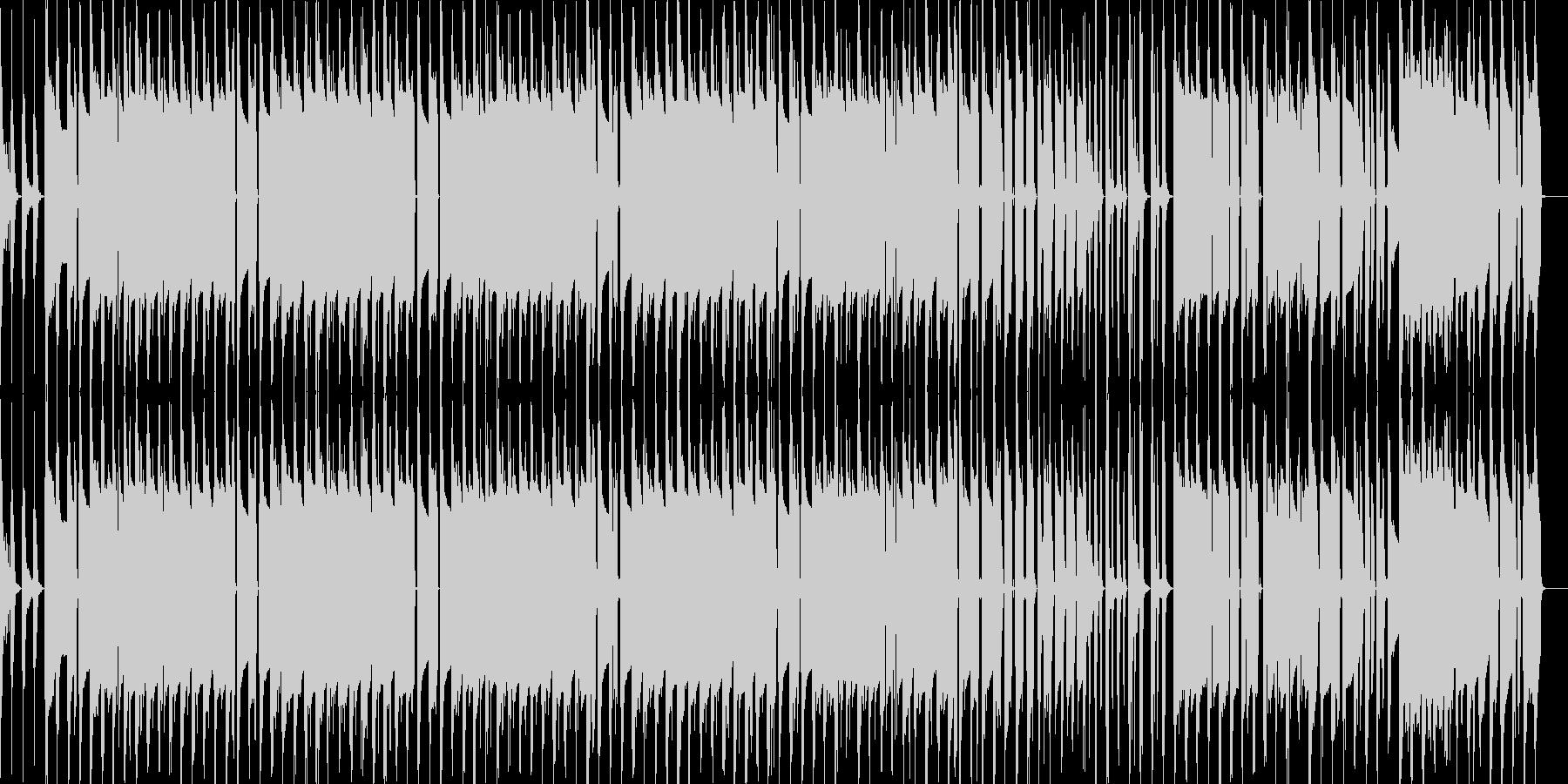 不思議な雰囲気のドラムンベースの未再生の波形