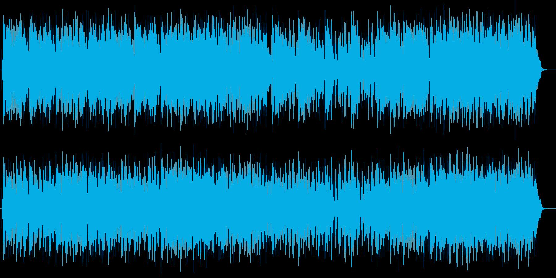 爽やかで軽快でリズミカルなピアノサウンドの再生済みの波形